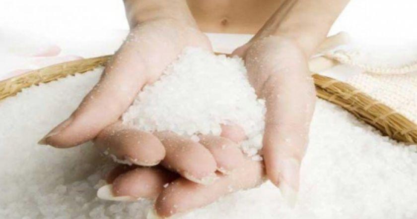 снег соль